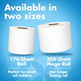 Amazon Brand - Presto! 176-Sheet Roll Toilet Paper, Ultra-Soft, 48 Count (for Small Roll Holders)