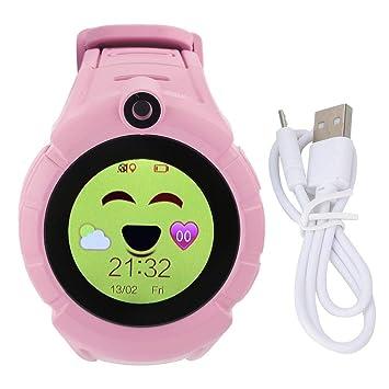 Mootea Niños SmartWatch Pantalla táctil Niños SmartWatch Q360 ...