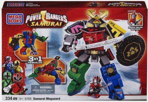 Mega Bloks Power Ranger Samurai MegaZord