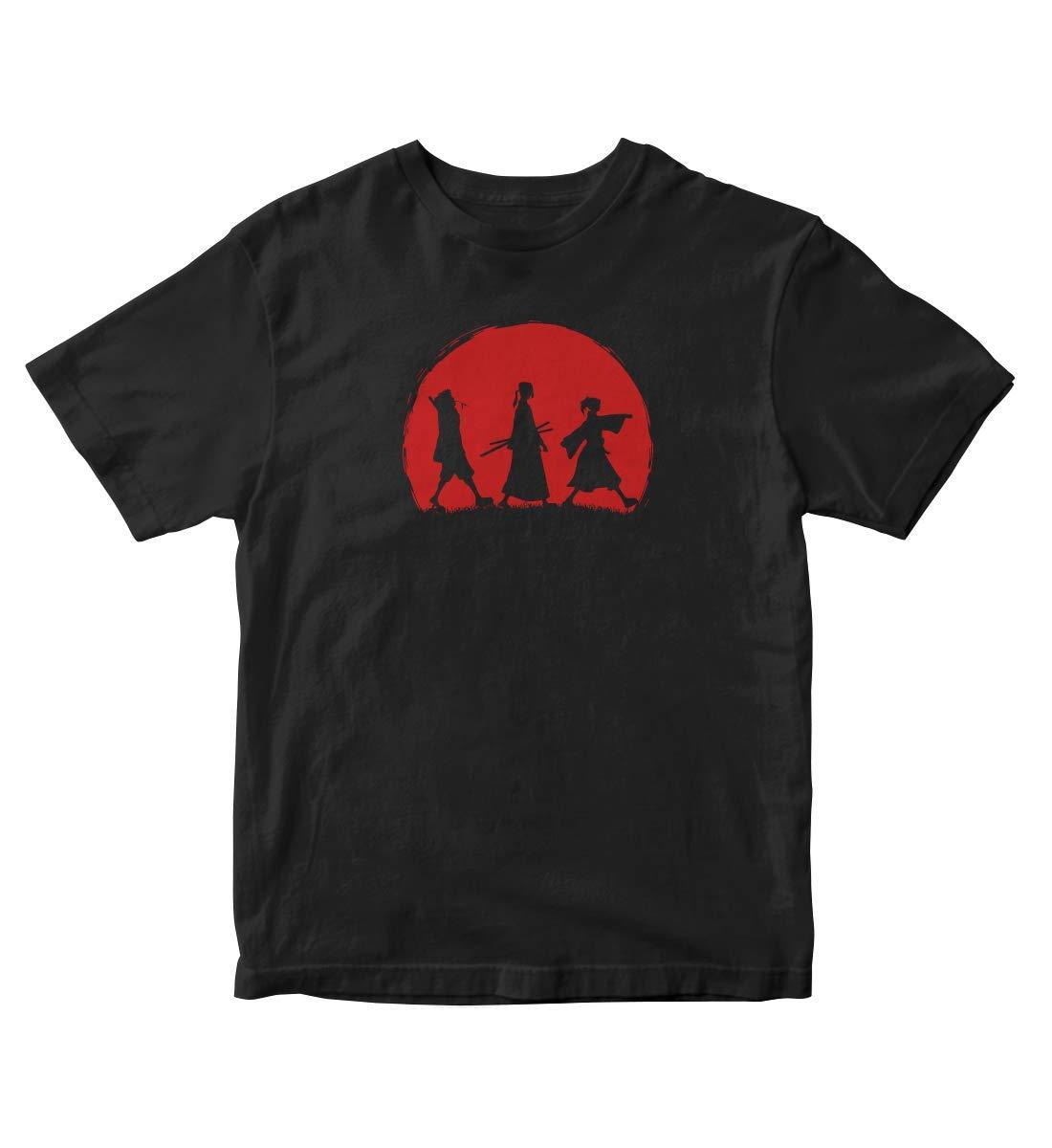 Samurai Champloo Samurai Sunset Anime Manga Black Shirt S A315