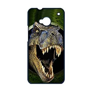Cool Horror Jurassic Dinosaur Coming Run Hard Case Cover for Ht One M7