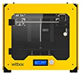 """bq 04BQWIT03 Witbox 3D Printer, Nylon, 1.75"""" Diameter, 2.20 lb, Yellow BQ Printers"""