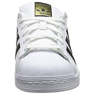 adidas Originals Women's Superstar Sneaker, White/Black/White, 6.5