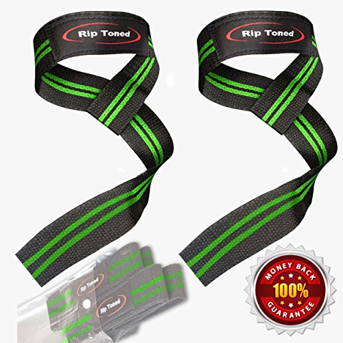 lifting-wrist-straps-by-rip-toned-pair-bonus-ebook-lifetime-warranty-cotton-padded-for-weightlifting