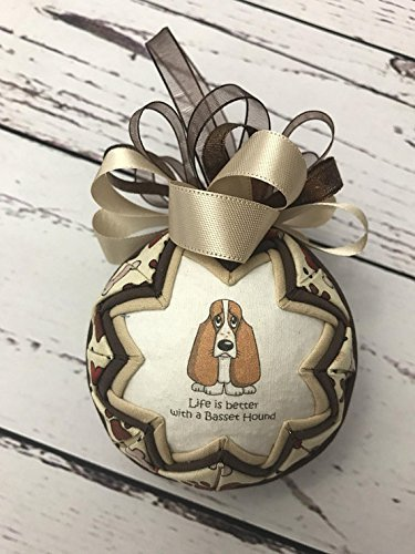 Life Is better With A Bassett Hound ornament