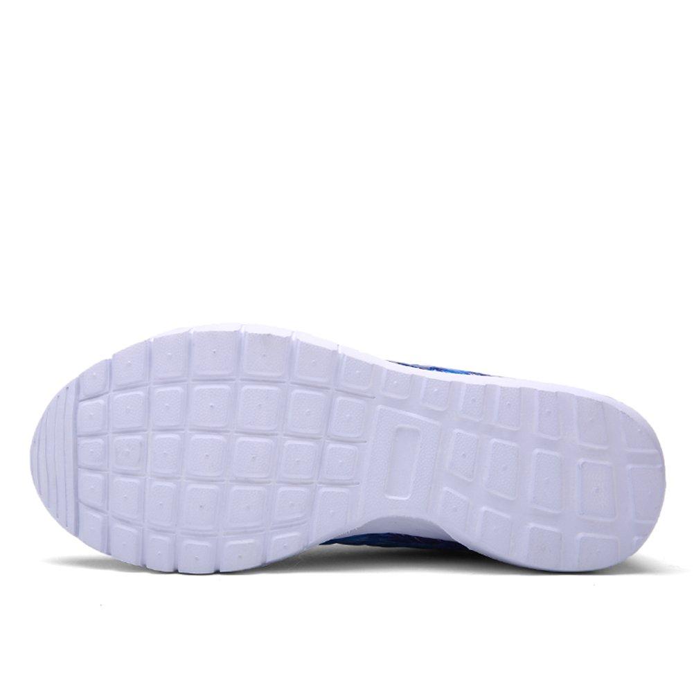 HUAN Herrenschuhe Paar Turnschuhe Schuhe Herren Freizeitschuhe Damen Turnschuhe Paar Niedrig-Top Atmungsaktive Laufschuhe Leicht Lila 596b1f