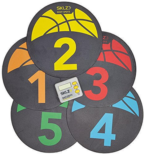 Find Bargain SKLZ Shot Spotz - Basketball Training Markers