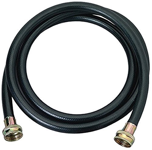 Harbor Washing Machine Rubber Hose, Black