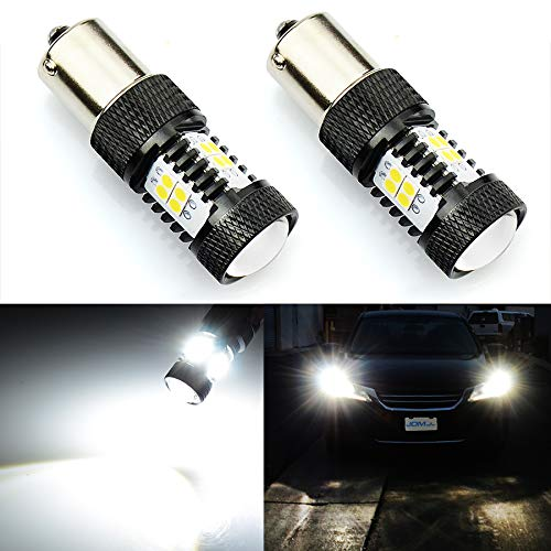 JDM ASTAR Extremely Bright 3000 Lumens High Power 1156 1141 1073 7506 LED Bulbs with Projector, Xenon White ()