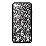 iPhone 6 Case/iPhone 6S Case Mexican Black Skull Party Makeup Printing Anti-Finger Anti-Scratch