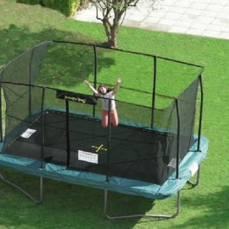 Cama elástica Jumpking rectangular de 4,30 m x 3 m: Amazon ...