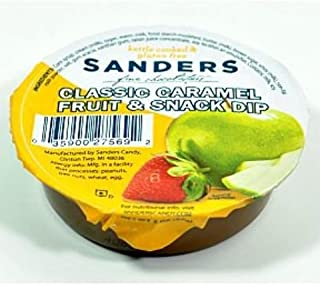 product image for Sanders Classic Caramel Fruit & Snack Dip Cup (Pack Of 36)