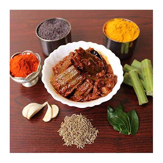 SITARA FOODS - Munakkaya Pickle / DrumStick Achar / Moringa Achar (Home Made - Andhra Style) 250 Grams