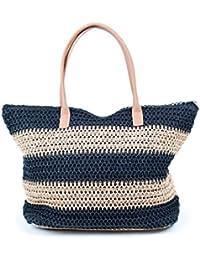 Straw tote bag - H & M