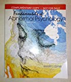 Fundamentals of Abnormal Psychology 8th edition (Instructor's Edition), Ronald J. Comer 2016, paperback