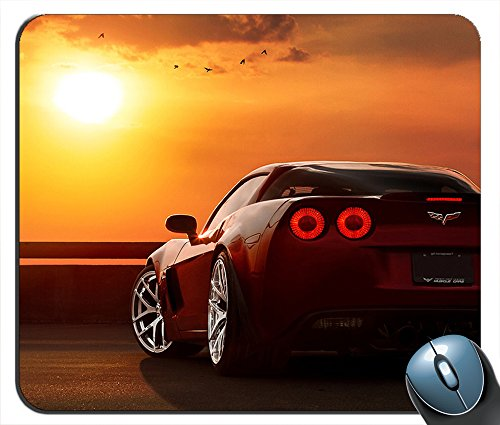 Sunset Chevrolet Corvette sv2724 Mouse Pad