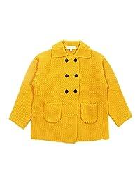 Mini Phoebee Girls' Wool Cardigan Sweater