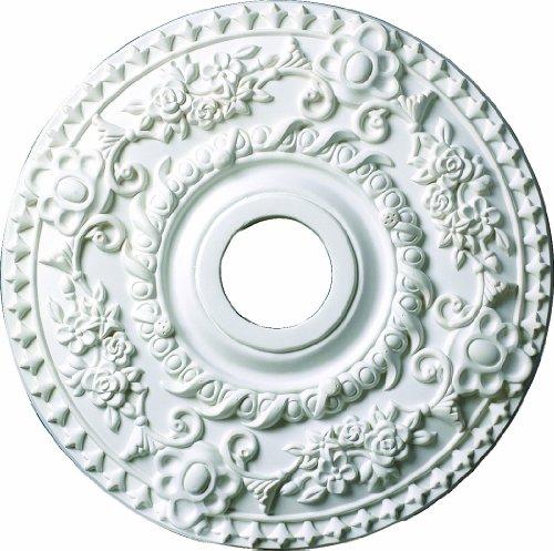(Designer's Edge Millwork 18-inch Round Exquisite Ceiling Medallion)