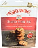 Belgian Butters Cookies Cranberry Almond Thins 4.23 OZ (Pack of 12)
