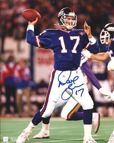 Dave Brown Autographed New York Giants 8x10 Photo - JSA Certified - Autographed NFL Photos ()