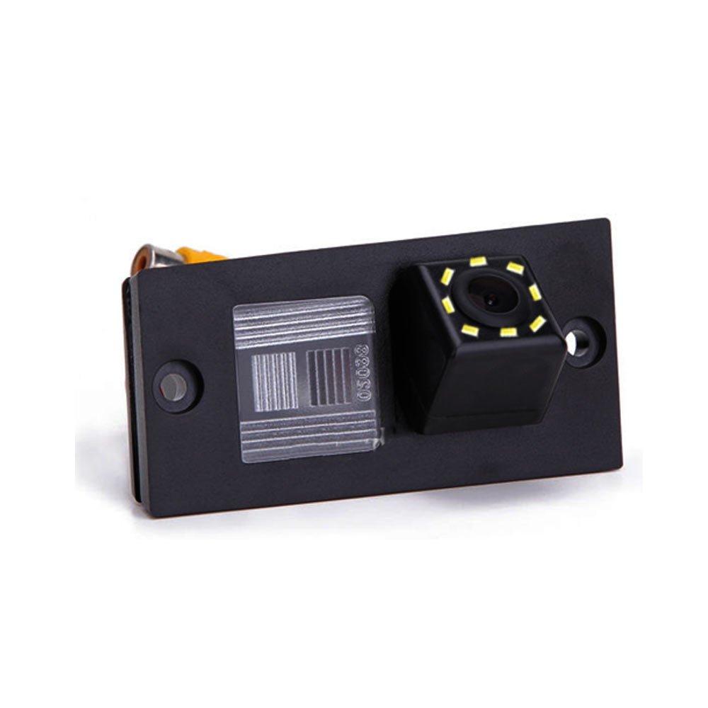 Dynavsal HD CCD Cam/éra de Recul Voiture en Couleur Kit Cam/éra vue arri/ère de voiture Imperm/éable IP67 avec large Vision Noctur H1 Grand Starex iload Starex //Travel//Cargo Ssangyong Actyon