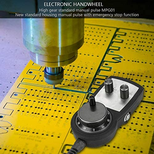 5V Electronic Handwheel Durable Engraving Machine MPG Handwheel Manual Generator Auoeer MPG Handwheel