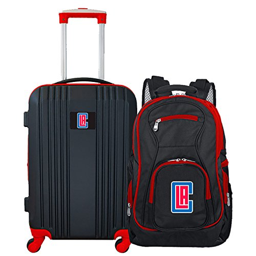 NBA Los Angeles Clippers 2-Piece Luggage ()