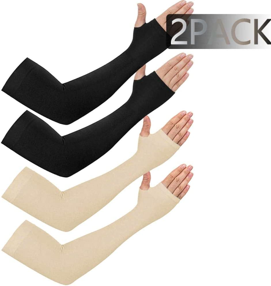 Tpdch Arm Sleeves Cooling Elbow Cover Cycling Run Fishing Uv Sun Protection Women Cool Arm Sleeves