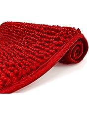 Eanpet Chenille Bath Mat Non-Slip Microfiber Floor Mat for Kids - Soft Washable Dry Fast Absorbent Shower Bathroom Area Rugs