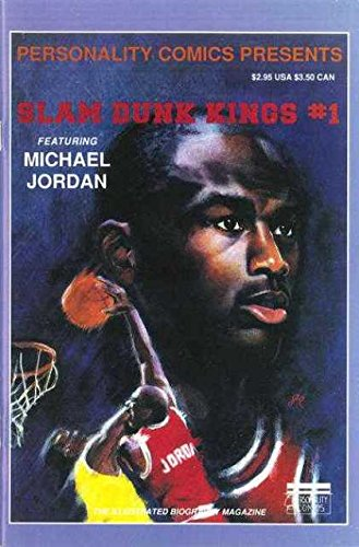 Personality Comics Presents Slam Dunk Kings #1 Featuring Michael Jordan