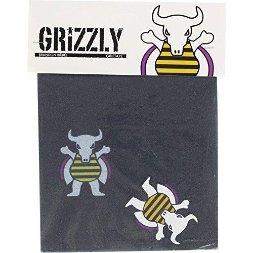 Grizzly グリップテープ グリズリーグリップテープ GIPTAPE Squares Biebel シグネチャー