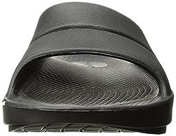 OOFOS Unisex Ooahh Slide Sandal,Black,9 B(M) US Womens/7 D(M) US Men