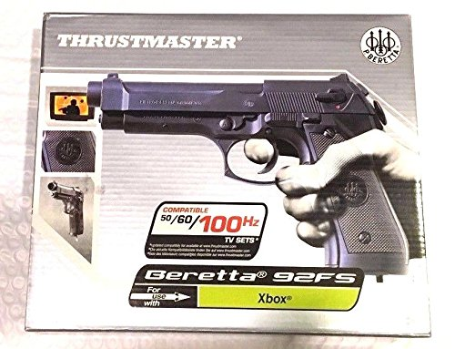 Thrustmaster Beretta 92FS Light Gun for Microsoft Xbox