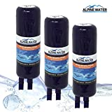 ALPINEWATER Premium Refrigerator Water Filter (3-Packs)