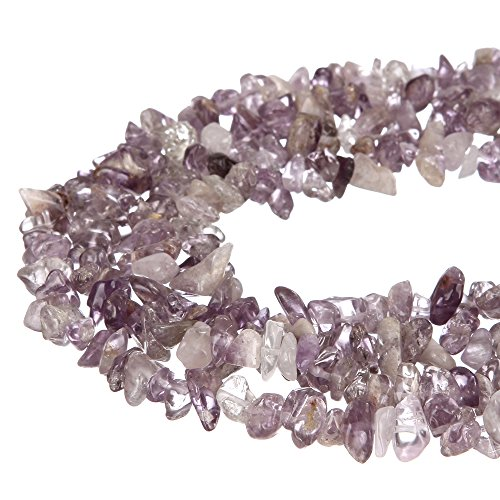 wanjin Nice Light amethyst Chips Beads 5~8mm 34 Inches per strand For Jewelery Making