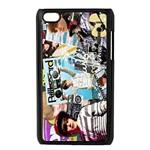 Custom High Quality WUCHAOGUI Phone case Singer Prince Justin Bieber Protective Case FOR IPod Touch 4th - Case-3