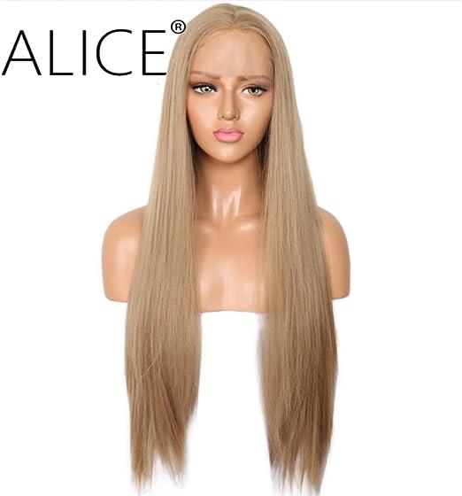 Perruque Blonde Mixte Marron pour Femme Longue Perruque De Cheveux Boucl/és Ondul/és Cosplay Perruque Synth/étique R/ésistant /à La Chaleur Carnaval de F/ête Halloween