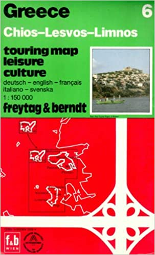 Lemnos Greece Map.Buy Chois Lesbos Lemnos Greece Map Book Online At Low Prices In