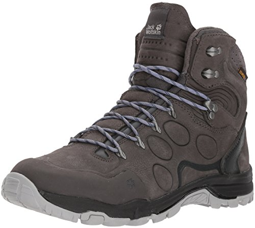 Image of Jack Wolfskin ALTIPLANO Prime Texapore MID W Hiking Boot, Dark Steel, Women's 6.5 D US