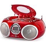 AudioSonic CD-570 CD Stereoradio (MP3, USB 2.0) rot