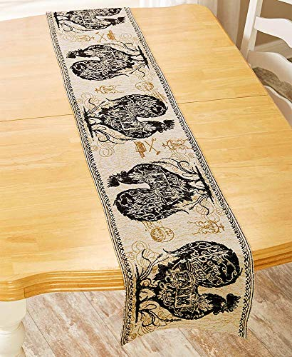 """Natco Home Fashions 72"""" Tapestry Table Runner -"""