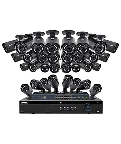 Lorex 32 Channel 4MP 4K Security System NR9326 6TB HDD 32 4M