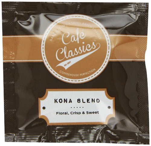 Cafe Classics Coffee Pods, Kona Blend, 15-Count (Pack of 3)