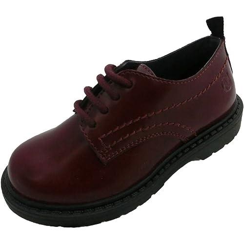 Naturino - Mocasines de Piel para niño Morado Burdeos Morado Size: 29: Amazon.es: Zapatos y complementos