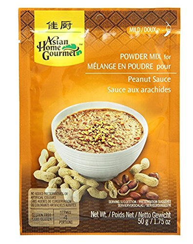 Asian Home Gourmet Peanut Sauce Mix, 1.75-Ounce Pouch (Pack of 3)