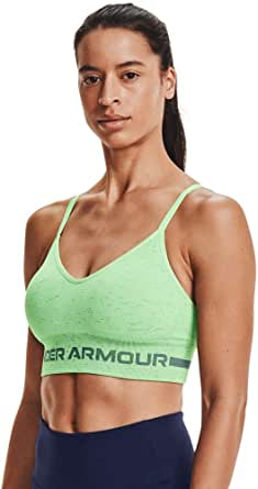Under Armour Women's Seamless Low Impact Long Heather Bra