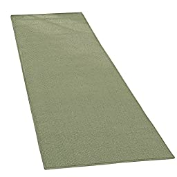 Extra-wide Extra Long Skid-resistant Runner, Sage, 28\