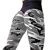 Cross-Border Exclusive hot Explosions Camouflage Print Hip Leggings Women,Spot L