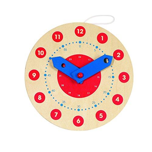 Wooden Teaching Clock (Small 18cm Teaching Clock)