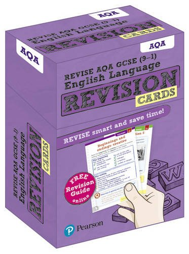 [B.o.o.k] Revise AQA GCSE (9-1) English Language Revision Cards: with free online Revision Guide (GCSE English P.P.T